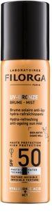 Filorga UV-Bronze hidratantna i osvježavajuća zaštitna magla protiv prvih znakova starosti lica SPF 50