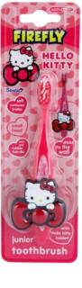 FireFly Hello Kitty periuță de dinti  pentru copii cu suporti fin