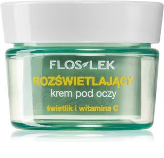 FlosLek Laboratorium Eye Care crème illuminatrice contour des yeux