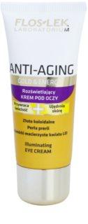 FlosLek Laboratorium Anti-Aging Gold & Energy rozjasňujúci očný krém