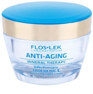 FlosLek Laboratorium Anti-Aging Mineral Therapy erneuernde Nachtcreme