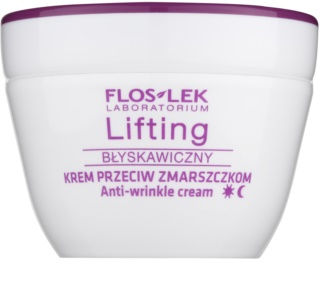 FlosLek Laboratorium Lifting Immediate crema antiarrugas con efecto lifting