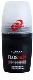 FlosLek Laboratorium FlosMen Antitranspirant Roll-On Alcoholvrij