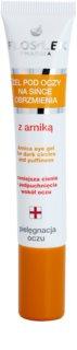 FlosLek Pharma Eye Care гел за околоочната зона с арника против отоци и тъмни кръгове