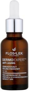 FlosLek Pharma DermoExpert Acid Peel verjüngende Nachtpflege mit Peelingwirkung