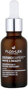 FlosLek Pharma DermoExpert Acid Peel rozjasňující noční péče proti pigmentovým skvrnám