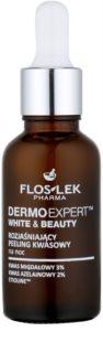 FlosLek Pharma DermoExpert Acid Peel tratamiento de noche iluminador contra problemas de pigmentación