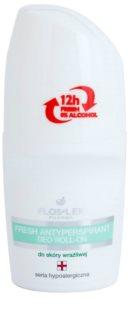 FlosLek Pharma Hypoallergic Line osvěžující antiperspirant roll-on bez alkoholu