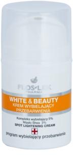 FlosLek Pharma White & Beauty избелващ крем за локално лечение