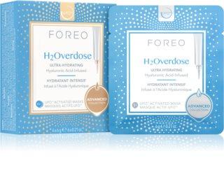 FOREO UFO™ H2Overdose intenzíven hidratáló és tápláló maszk