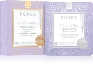 FOREO UFO™ Youth Junkie intenzíven tápláló maszk ránctalanító hatással