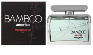 Franck Olivier Bamboo America Eau de Toilette voor Mannen 75 ml