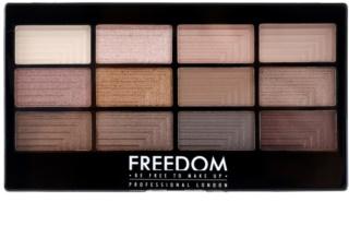 Freedom Pro 12 Audacious 3 szemhéjfesték paletták applikátorral