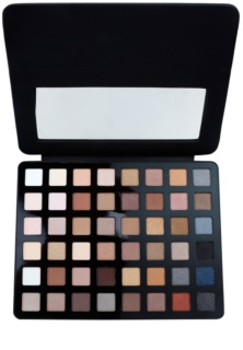 Freedom Pro Artist Pad Black Arts Eyeshadow Palette with Mirror