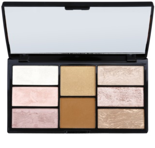 Freedom Pro Blush Bronze and Baked Palette To Facial Contours