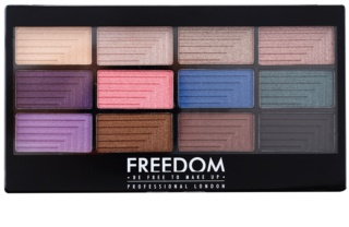 Freedom Pro 12 Dreamcatcher Eyeshadow Palette with Applicator
