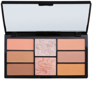 Freedom Pro Blush Peach and Baked paleta pentru contur facial