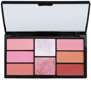 Freedom Pro Blush Pink and Baked Palette To Facial Contours