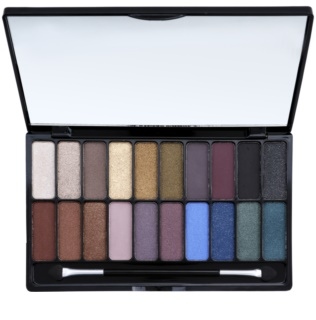 Freedom Pro Decadence Rock & Roll Queen Eye Shadow Palette With Applicator