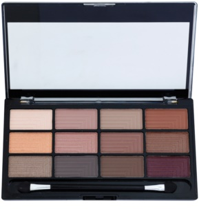Freedom Pro 12 Secret Rose Oogschaduw Palette  met Applicator