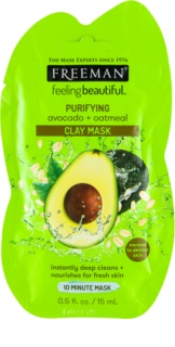 Freeman Feeling Beautiful Kaolien Gezichts Masker  voor Dieptereiniging