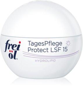 frei öl Hydrolipid creme de dia protetor contra envelhecimento de pele SPF 15