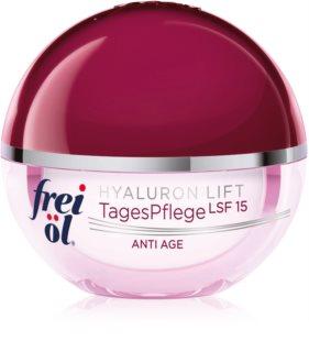 frei öl Anti Age Hyaluron Lift crème de jour raffermissante et anti-rides SPF 15