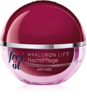 frei öl Anti Age Hyaluron Lift Regenerating And Firming Night Cream with Anti-Wrinkle Effect
