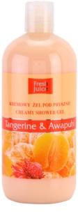Fresh Juice Tangerine & Awapuhi gel de ducha en crema