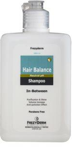 Frezyderm Hair Balance sampon delicat pentru tratamente scalpului printre dermatologice