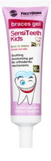 Frezyderm SensiTeeth Kids gel calmante para aliviar las molestias en las encías provocadas por el uso de los aparatos fijos