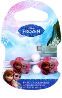 Frozen Princess Haargummis mit Dekoblume