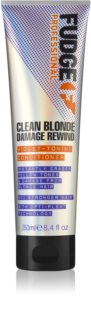 Fudge Clean Blonde Damage Rewind regenerator za toniranje za plavu kosu