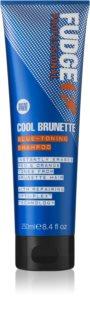 Fudge Care Cool Brunette šampon za rjave in temne odtenke las