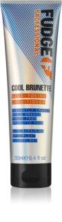Fudge Care Cool Brunette balzam za rjave in temne odtenke las