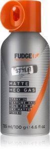Fudge Style Matte Hed Gas fiksacijsko pršilo za končno oblikovanje za mat videz