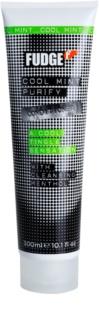 Fudge Cool Mint Purify condicionador hidratante com efeito resfrescante