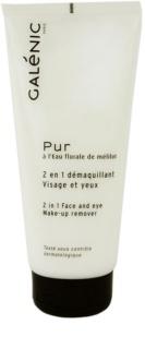 Galénic Pur лосион за почистване на фон дьо тен за всички типове кожа на лицето