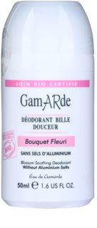 Gamarde Hygiene desodorante roll-on calmante con aroma de flores