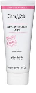 Gamarde Hygiene gel exfoliante suave con efecto calmante para el cuerpo