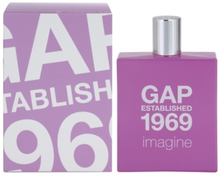 Gap Gap Established 1969 Imagine Eau de Toilette voor Vrouwen  100 ml