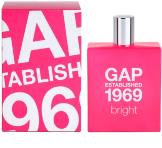 Gap Gap Established 1969 Bright Eau de Toilette voor Vrouwen  100 ml