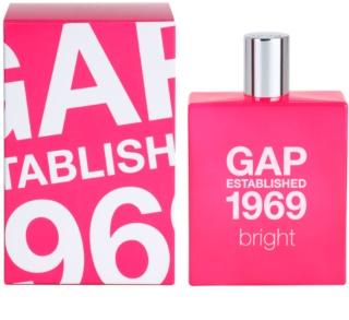 Gap Gap Established 1969 Bright Eau de Toilette voor Vrouwen  100 ml