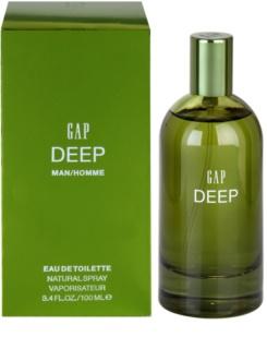 Gap Deep Men Eau de Toilette voor Mannen 100 ml