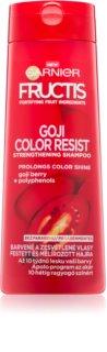 Garnier Fructis Goji Color Resist posilující šampon pro barvené vlasy