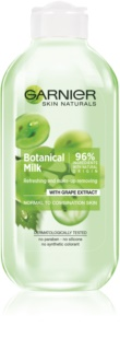 Garnier Botanical lapte demachiant pentru piele normala si mixta