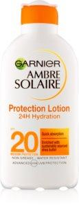 Garnier Ambre Solaire ενυδατικό αντηλιακό γαλάκτωμα SPF 20