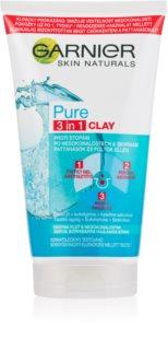 Garnier Pure scrub detergente 3 in 1