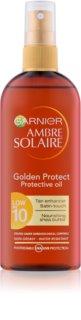 Garnier Ambre Solaire Golden Protect олійка для засмаги SPF 10