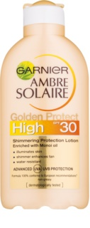 Garnier Ambre Solaire Golden Protect losjon za sončenje SPF 30